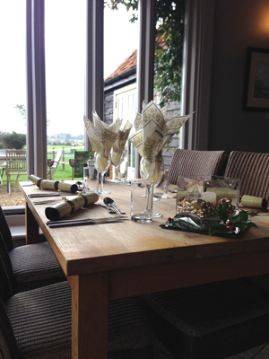 Christmas lunch for private or business bookings @ Hall Farm | Colchester | United Kingdom
