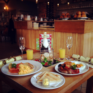 Christmas Eve Sparkling Brunch – Wednesday 24th December